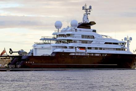 Buy Microsoft the late Paul Allen megayacht for only 330 Million - Contact Fort Lauderdale Yacht Sales